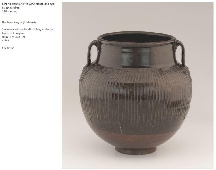 Black Glazed Song or Jin Dynasty jar