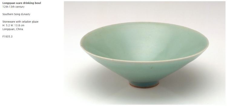 Song Dynasty Lonquan Celadon Bowl