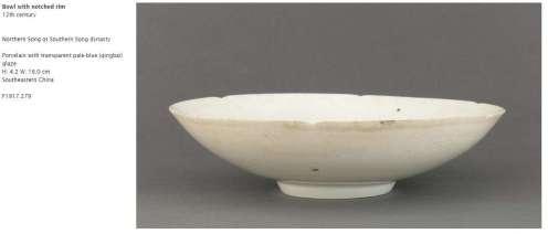 Northern or Southern Song Qingbai Bowl