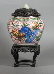 Fine Chinese Ming Wucai Jar