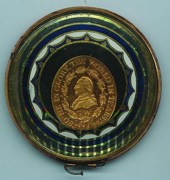 George Washington Uniface Funeral Medal