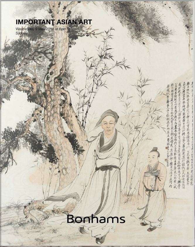 Chinese Art Auction Bonhams in Sydney