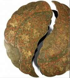 Bonhams, Lot 324 Rare Split Top Qianlong Lacquer Table