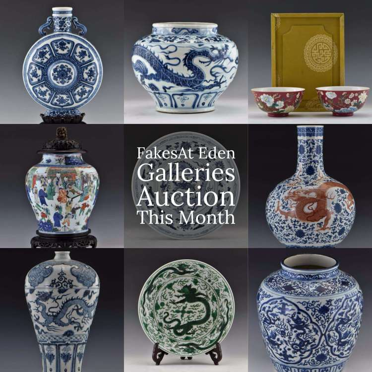 Fake Chinese Porcelain Auction At Eden Galleries