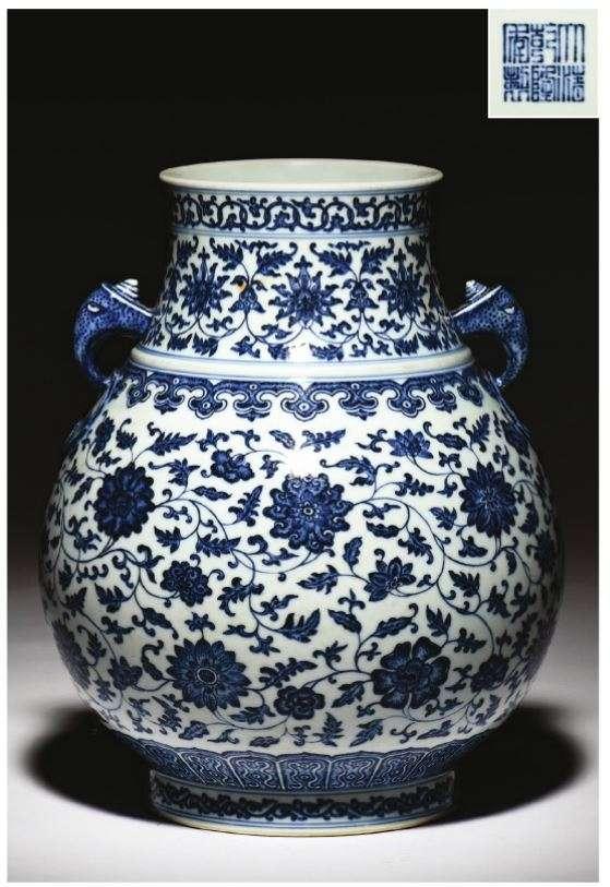 Copy of Qianlong Hu vase