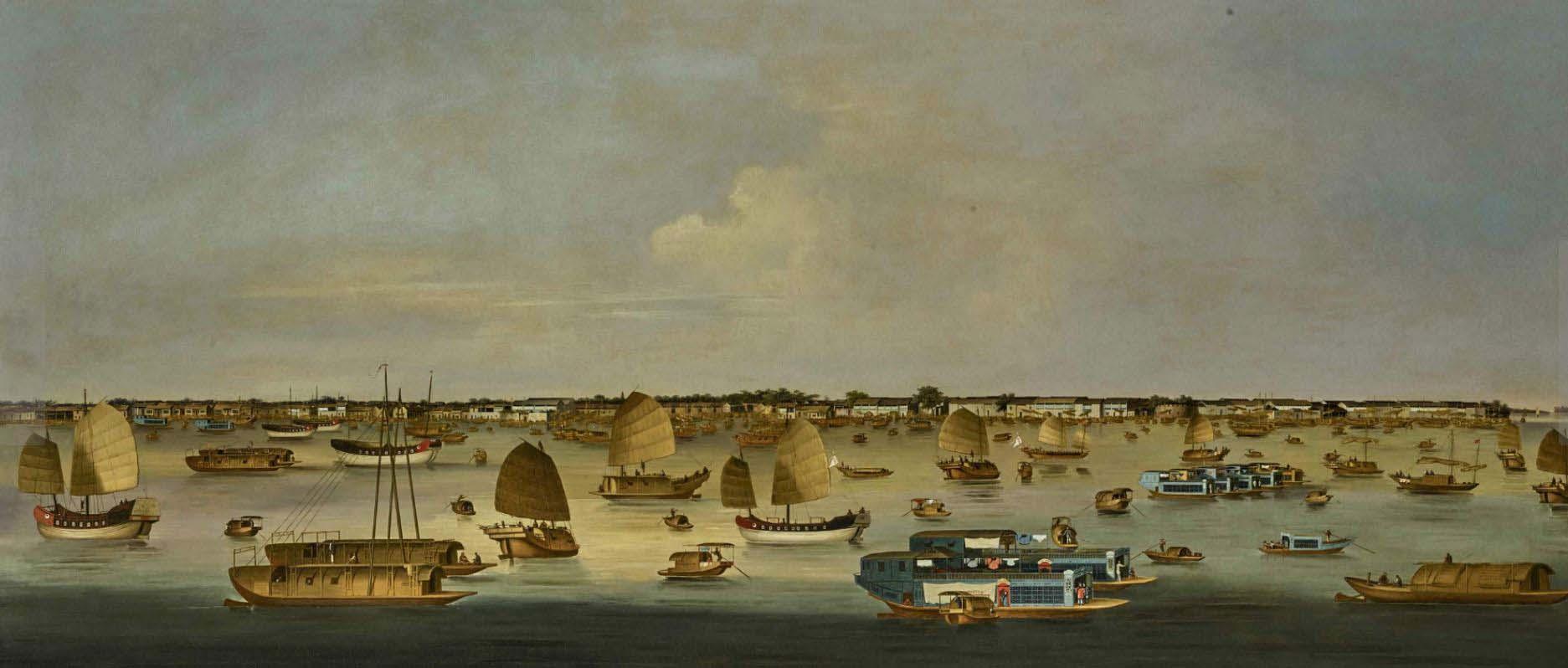 Painting PEARL RIVER OFF HONAM ISLAND