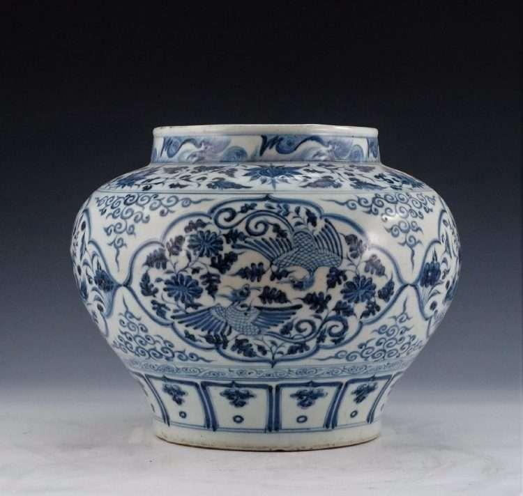 Modern reproduction of a Yuan Jar