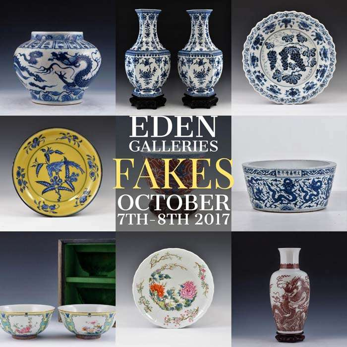 Auction Of Chinese Porcelain Fakes