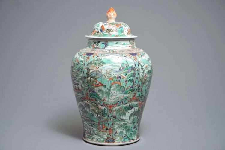 Kangxi Famille Verte Jar