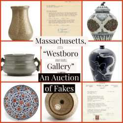 Fake Chinese Art Auction Westboro Gallery
