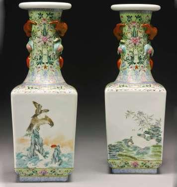 pair vases d