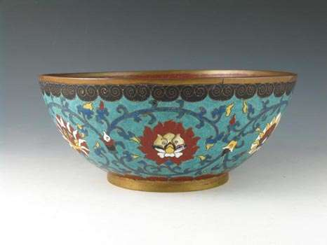 19th c. chinese cloisonne