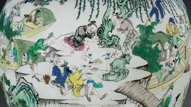 yongzheng vase famille rose