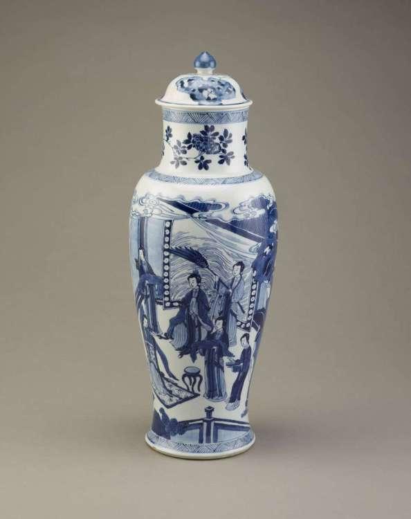 Kangxi porcelain jar