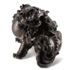 Chinese mythical bronze beast, early Qing Dynasty