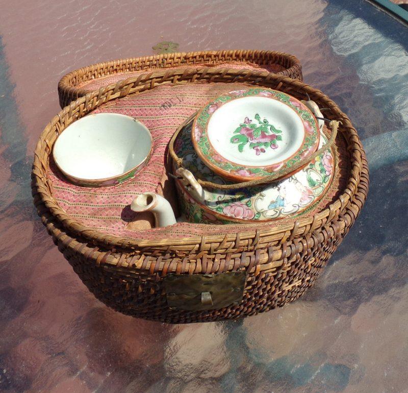 Chinese tea set 19th C