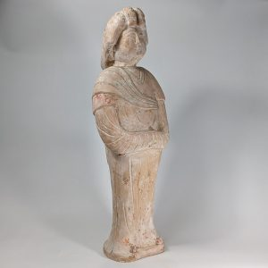 Tall Terracotta Statue of a Court Lady (Fat Lady)