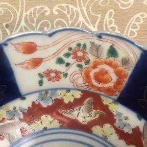 Japan Imari dragon plate