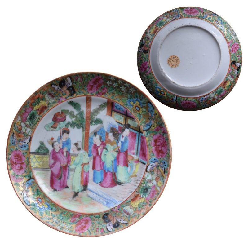 Rose Mandarin Plate