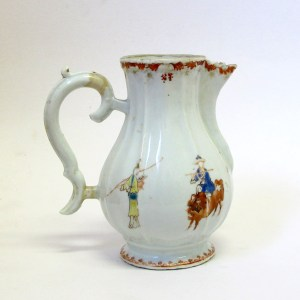 Antique Chinese Export Porcelain Ewer