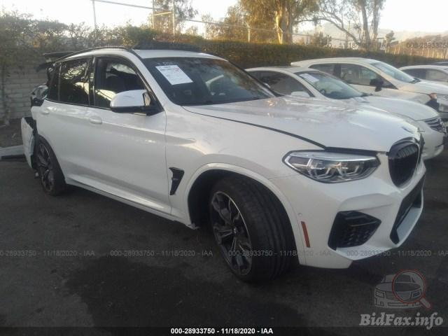 One of the big caveats of the modern day horsepower war is that eventually, automakers are going to run out. Bmw X3 M 2021 White 3 0l Vin 5ymts0c00m9d96316 Free Car History