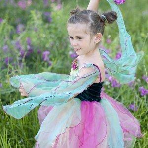 Robe fée fleurie