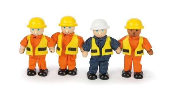 ouvriers de chantier