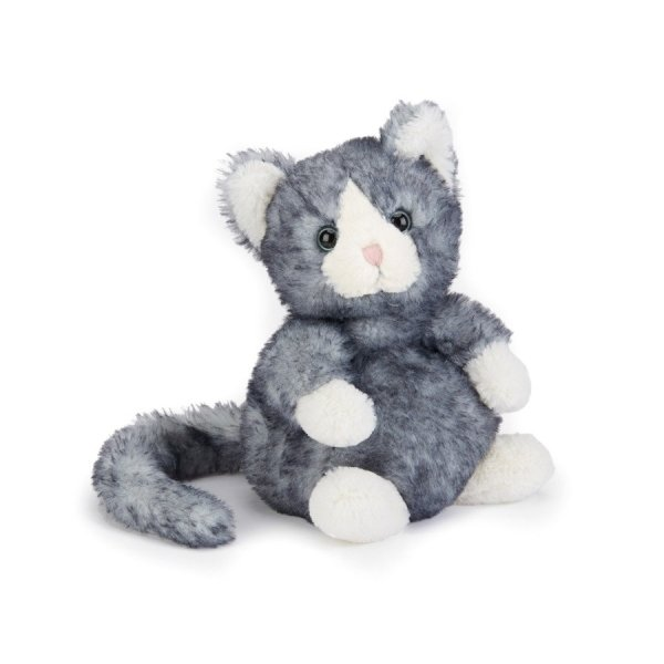 Dolly le chaton gris peluche chat
