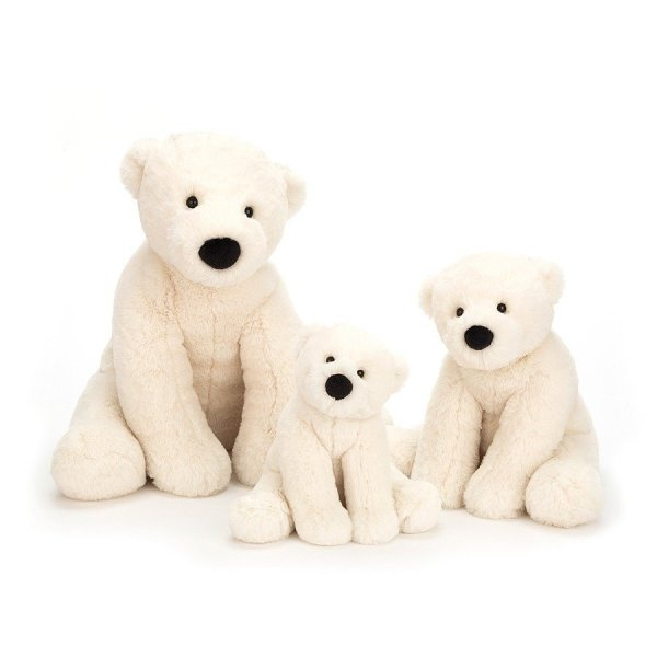 Perry l'ours polaire peluche Jellycat
