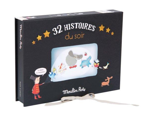 coffret cinéma lampe à histoires 32 histoires Moulin Roty