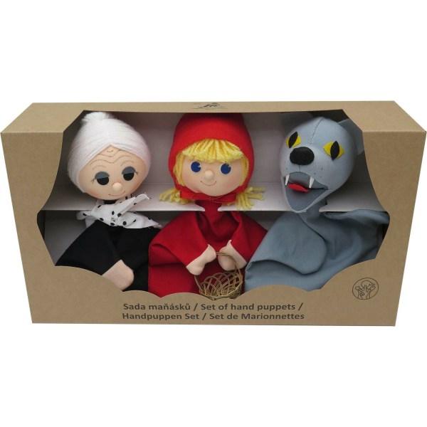 Marionnettes coffret chaperon rouge