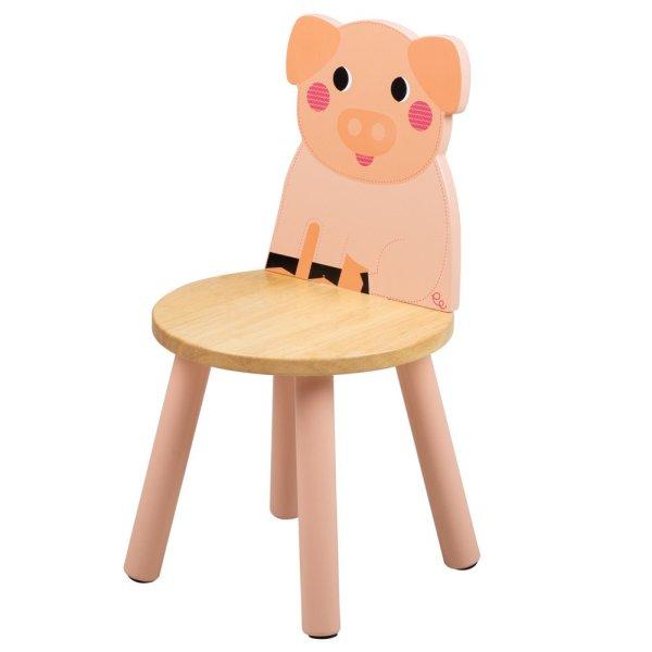 Chaise animal cochon tidlo bigjigs