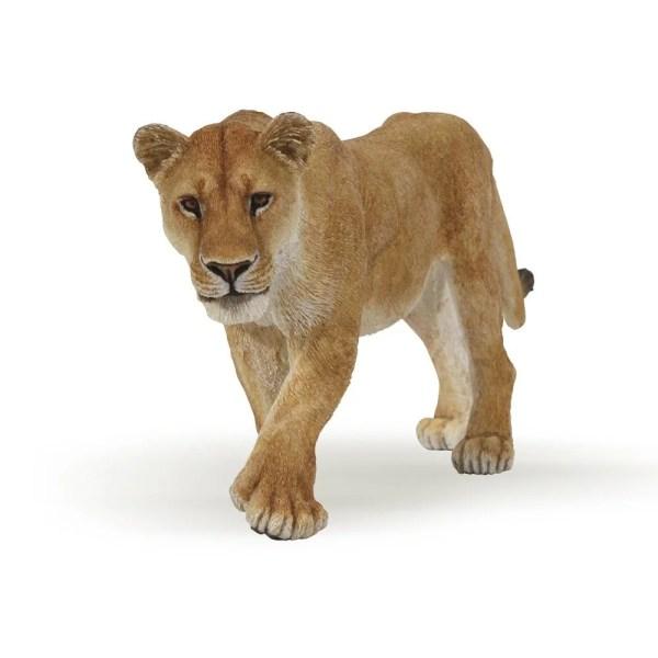 Figurine Les animaux du zoo, Lionne, Papo, Bidiboule