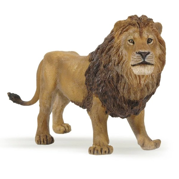 Figurine Les animaux du zoo, Lion, Papo, Bidiboule