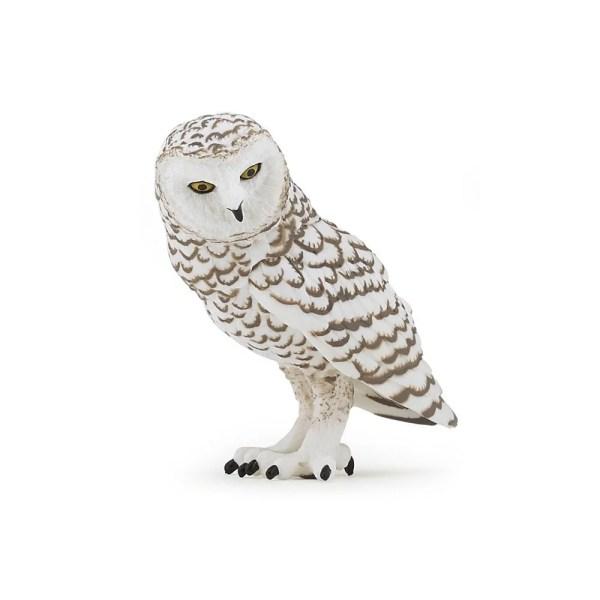 Figurine Oiseaux sauvages, Harfang des neiges chouette, Papo, Bidiboule