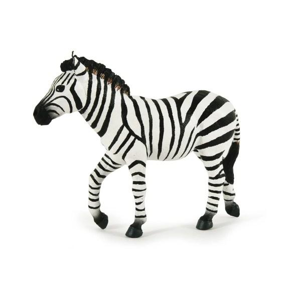 Figurine Les animaux du zoo, Zèbre, Papo, Bidiboule