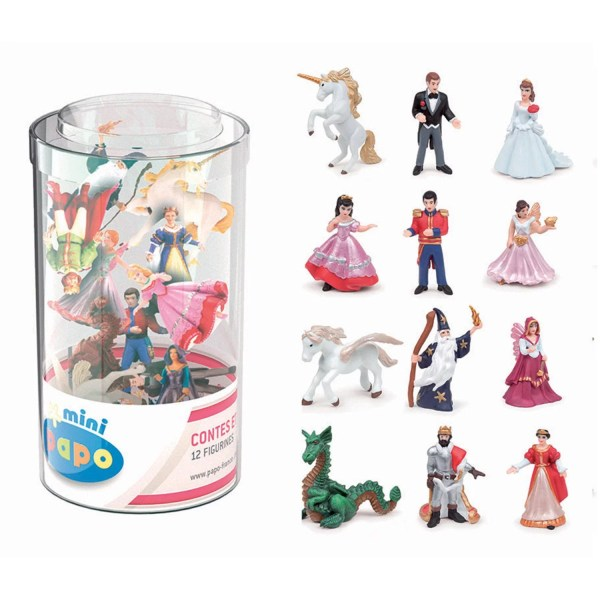 Mini Figurines Monde enchanté, Mini tube, Papo, Bidiboule