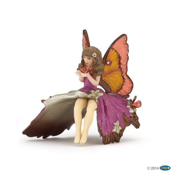 Figurines Monde enchanté, Enfant elfe rose, Papo, Bidiboule