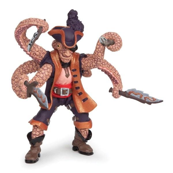 Figurines Pirates, Pirate mutant pieuvre, Papo, Bidiboule