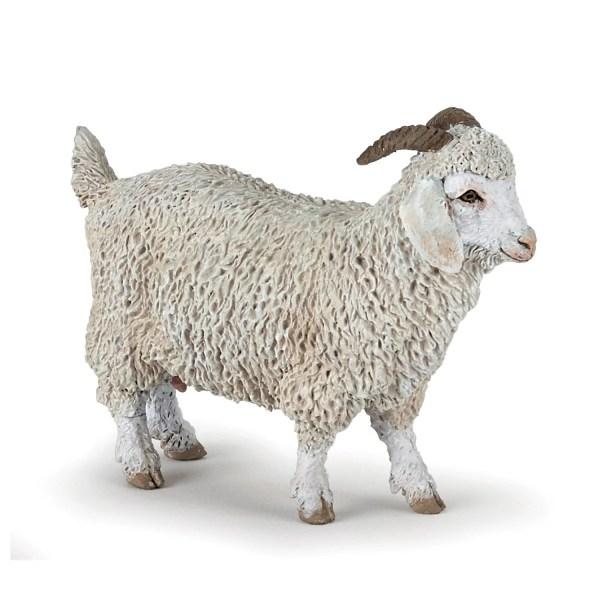 Figurines Animaux de la ferme, Chèvre angora, Papo, Bidiboule