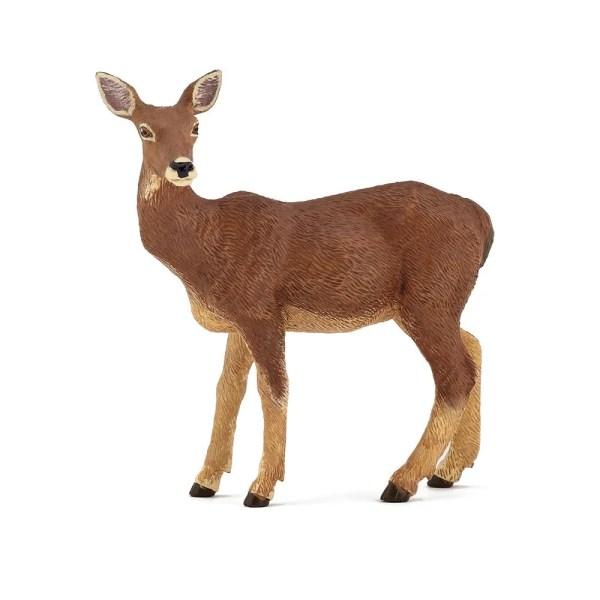 Figurine Les animaux de la forêt, Biche, Papo, Bidiboule