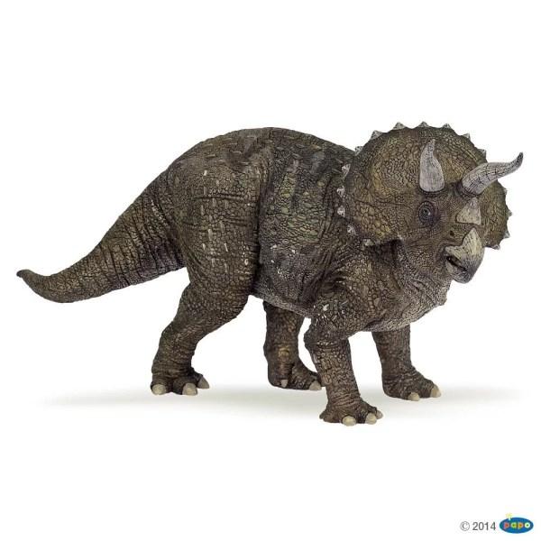 Figurines Dinosaures, Triceratops, Papo, Bidiboule