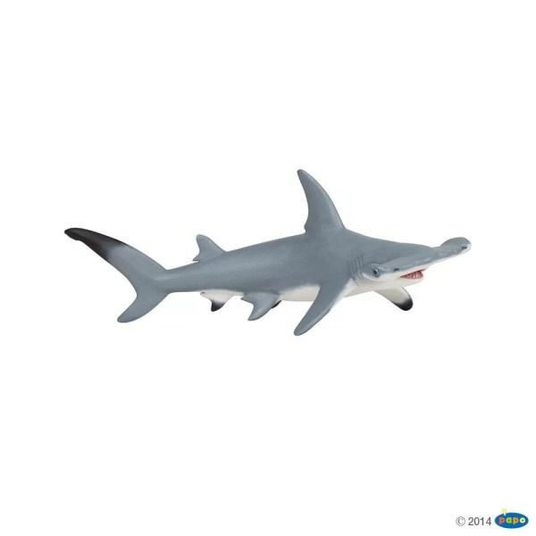 Figurine Univers marin, Requin marteau, Papo, Bidiboule