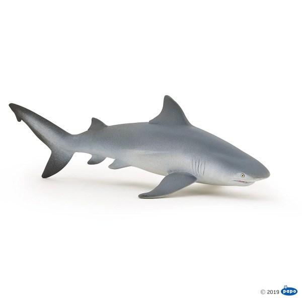 Figurine Univers marin, Requin bouledogue, Papo, Bidiboule