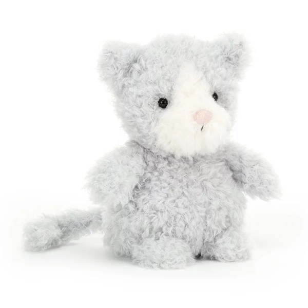 La peluche Little Kitten est une peluche très douce qui représente un adorable petit chat. C'est un animal de compagnie destiné aux bébés dès la naissance.