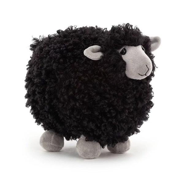 Mouton noir 18 cm, Peluche, Jellycat, Bidiboule