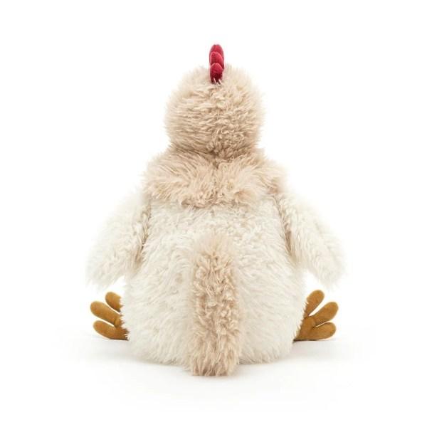 La peluche Whitney le Poulet, est idéale dès la naissance.