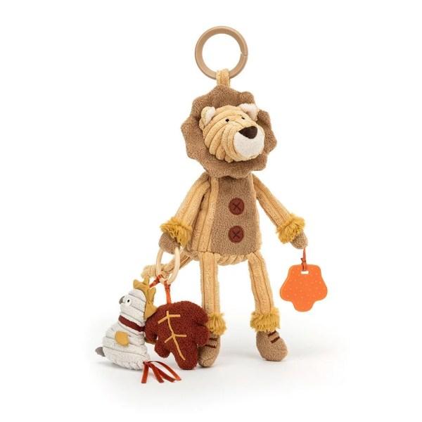 Ce jouet d'activités Cordy très originale est parfaite pour la naissance ! Fabriqué en velours côtelé tout doux, la peluche Cordy accompagnera bébé dès sa naissance pour devenir un compagnon de jeu indispensable.