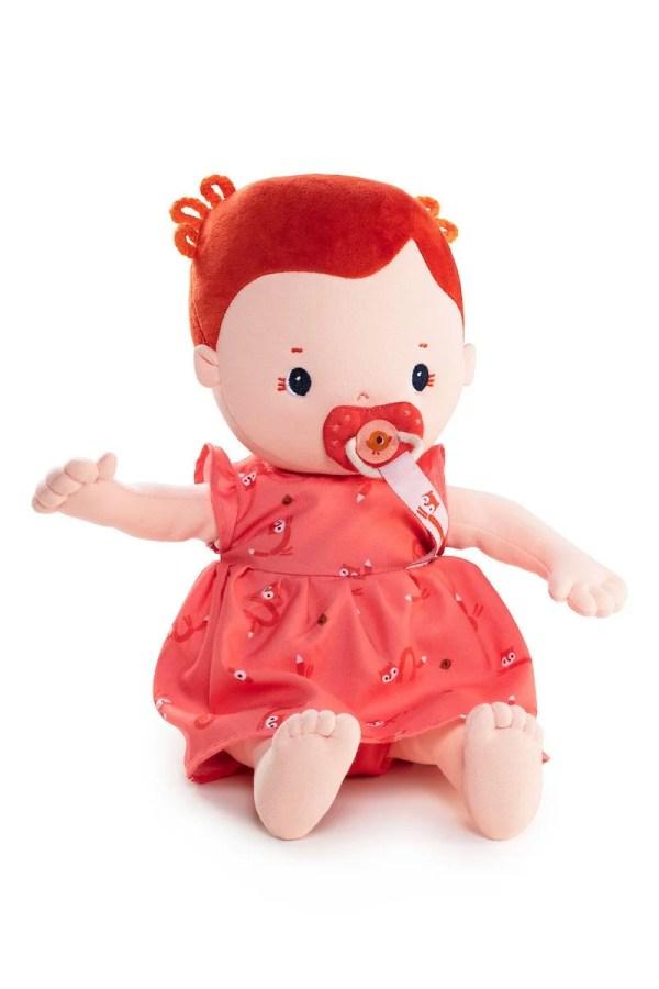 Poupée en tissu Rose de 36 cm ressemble à un vrai bébé