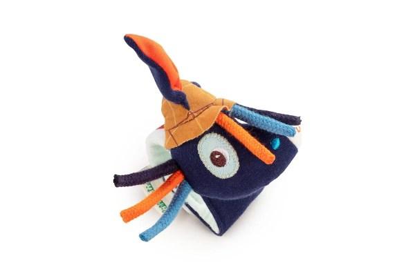 Le bracelet hochet Ignace l'Âne est un hochet à attacher au poignet en forme d'âne